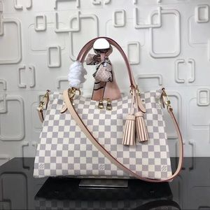 Louis Vuitton lymington damier azur
